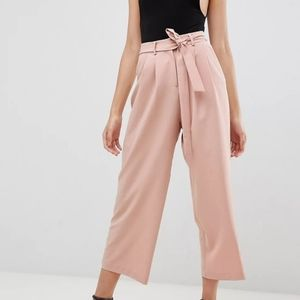 Asos Design Hi-Rise Culotte Pants NWT